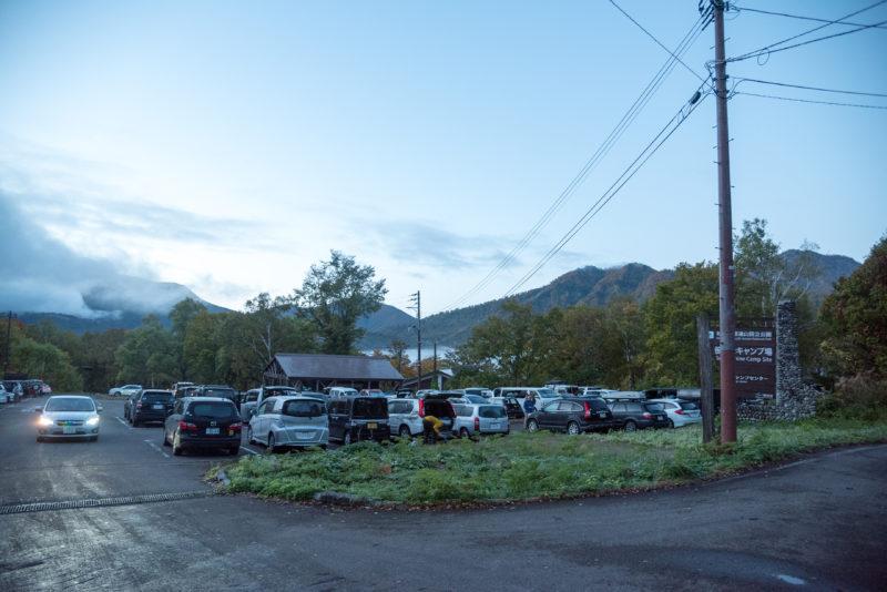 笹ヶ峰駐車場