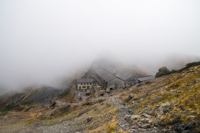 白馬岳頂上宿舎